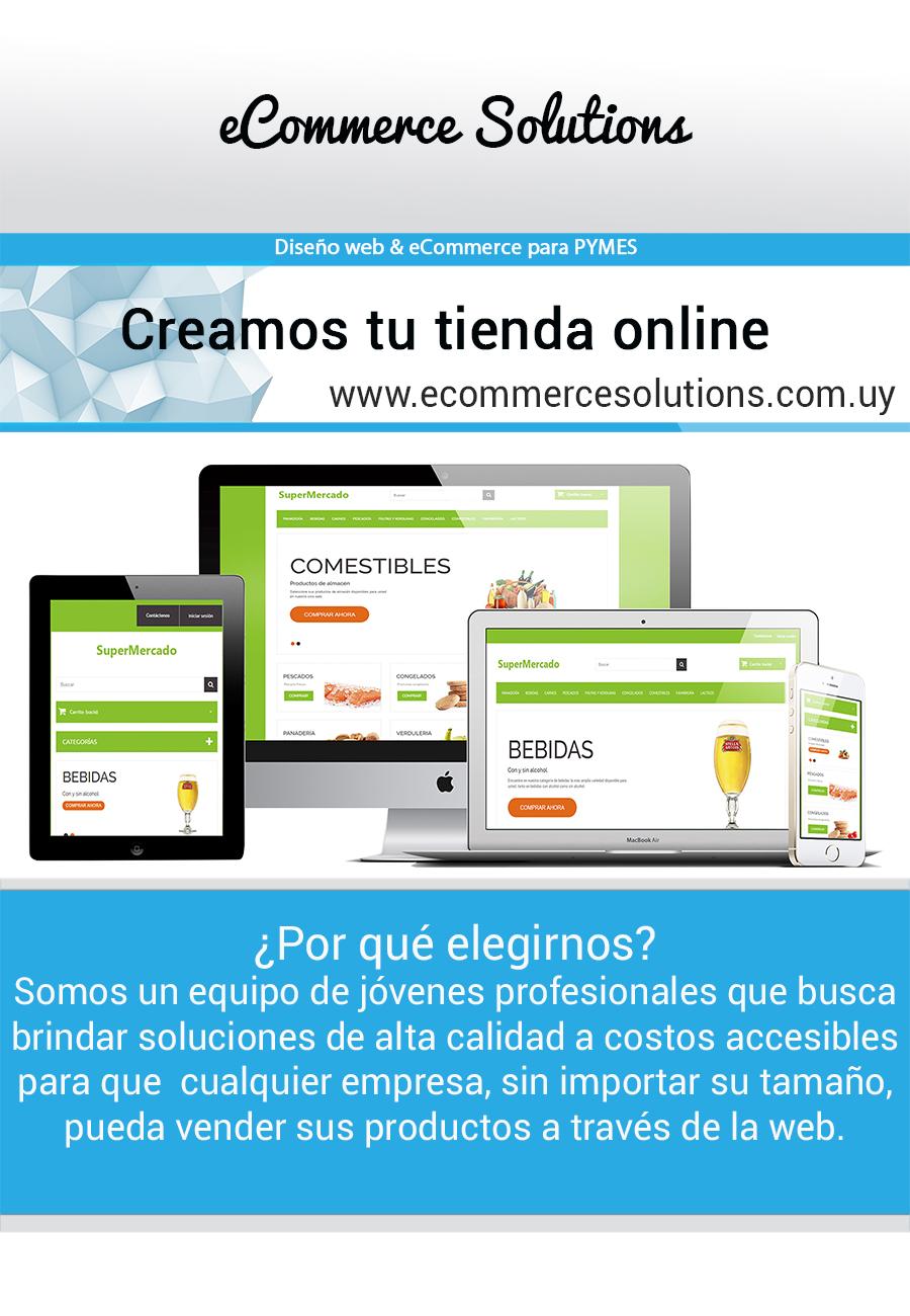 Soluciones de eCommerce en Uruguay